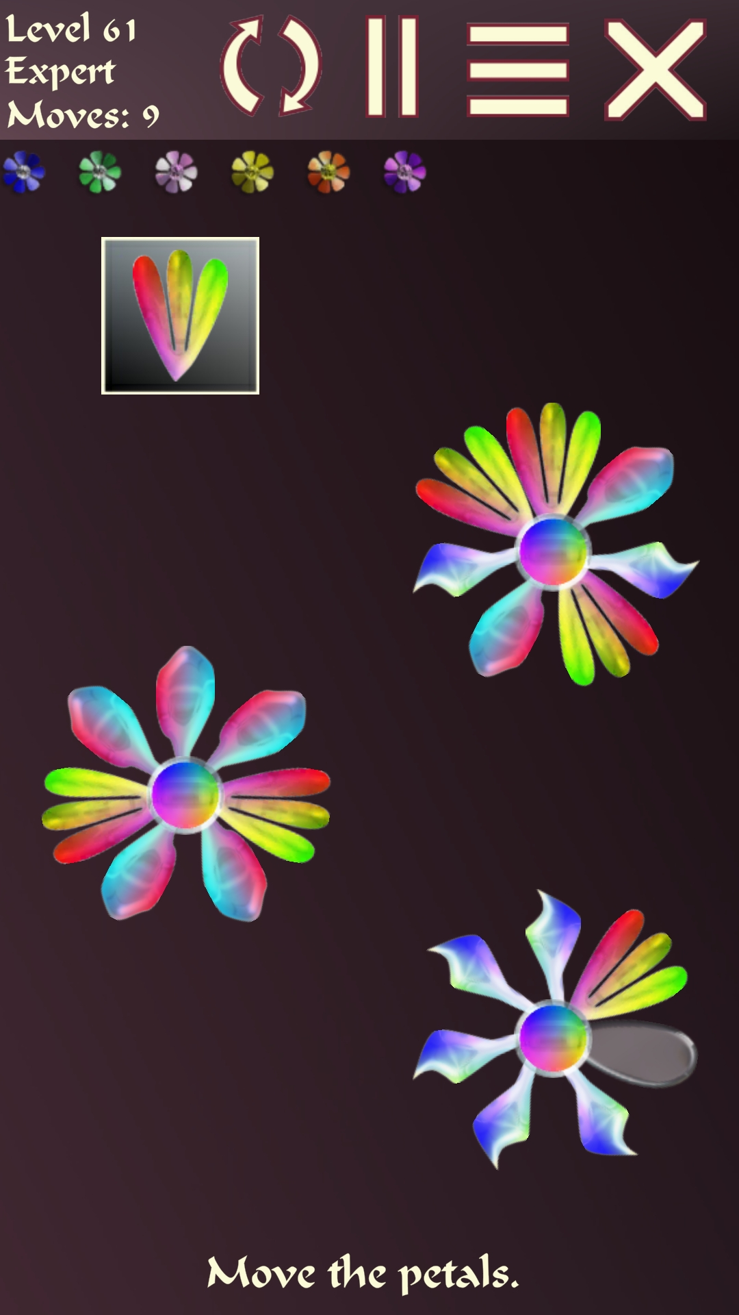 Screenshot 2: Petal Puzzler Shapes
