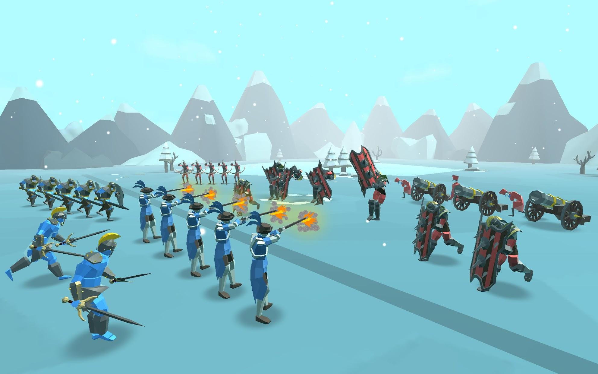 Screenshot 1: Epic Battle Simulator 2