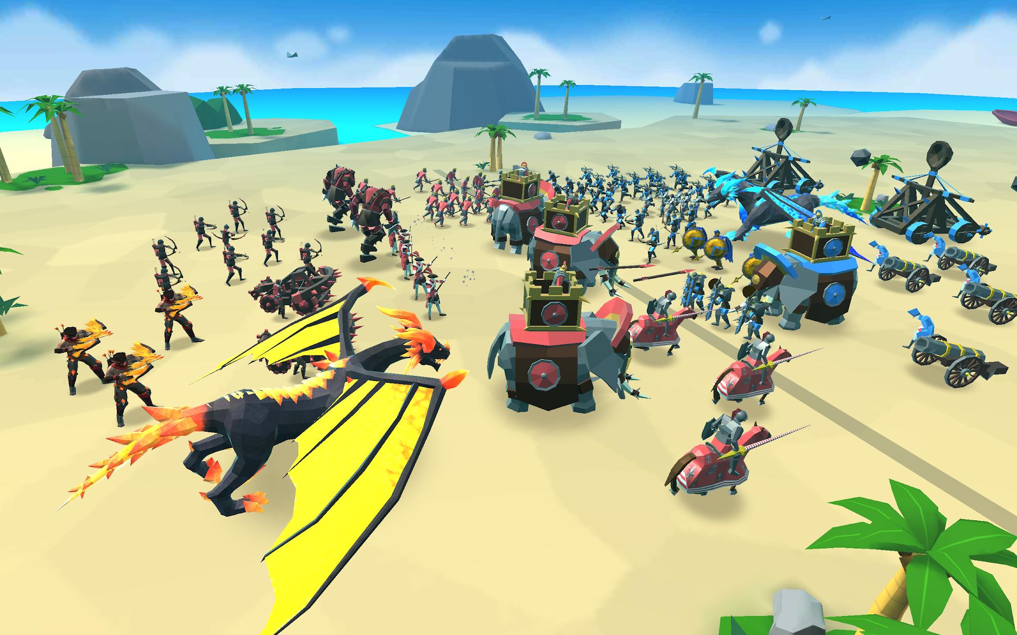 Screenshot 3: Epic Battle Simulator 2