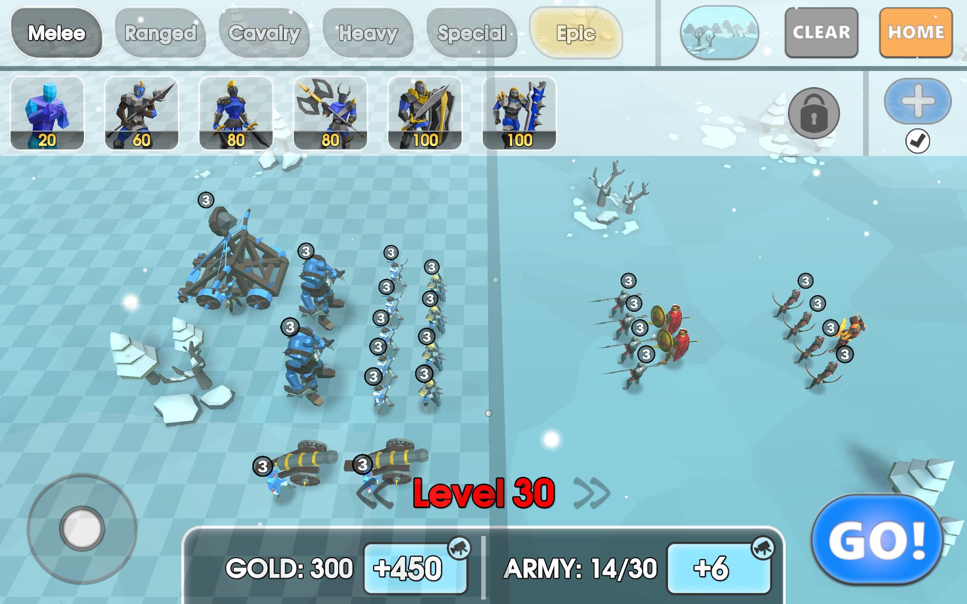 Screenshot 4: Epic Battle Simulator 2