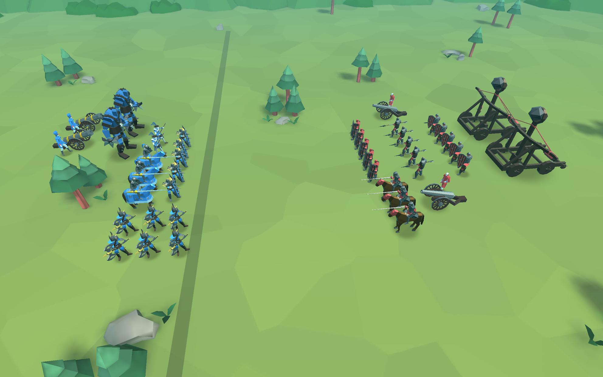 Screenshot 2: Epic Battle Simulator 2