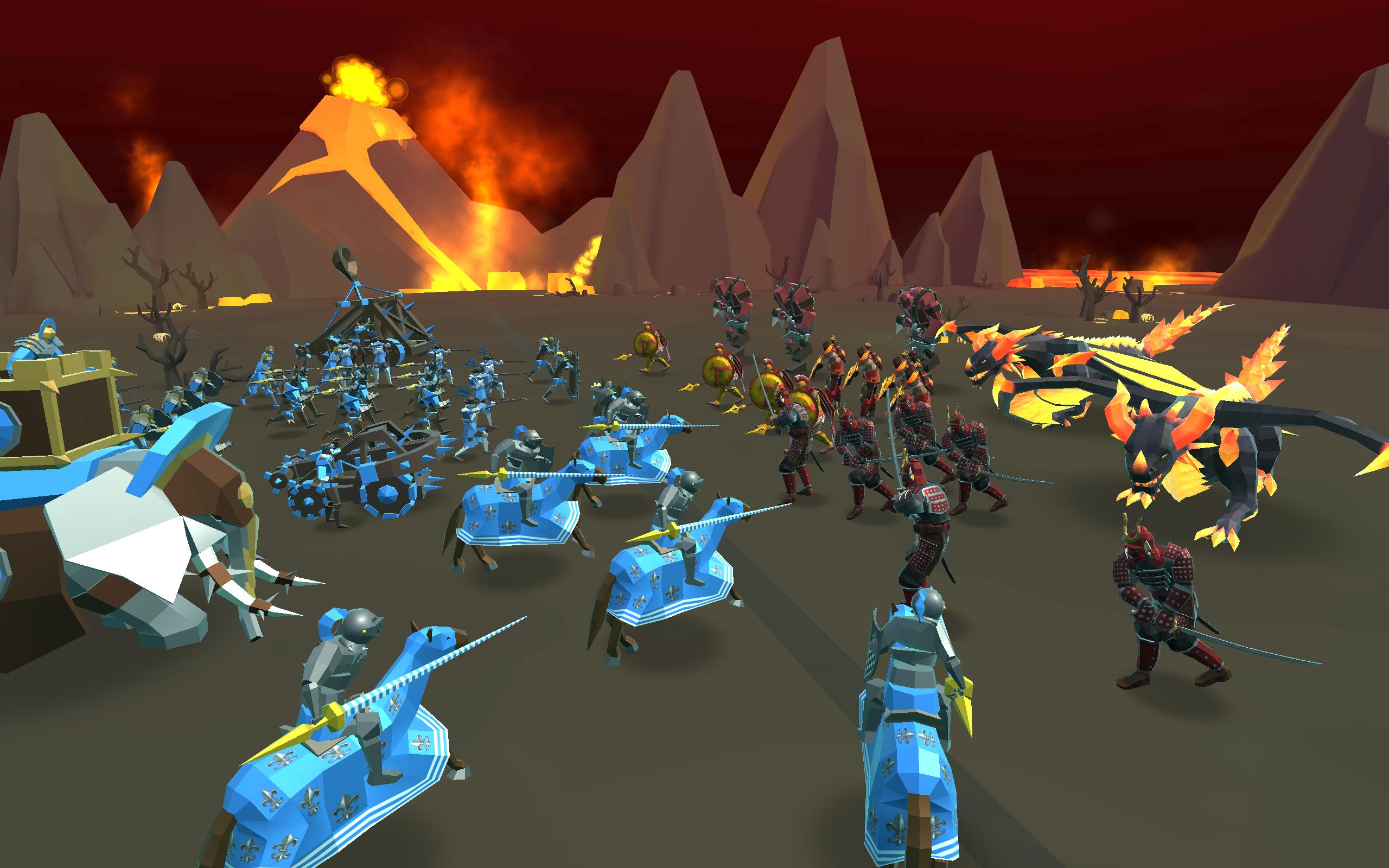 Screenshot 5: Epic Battle Simulator 2