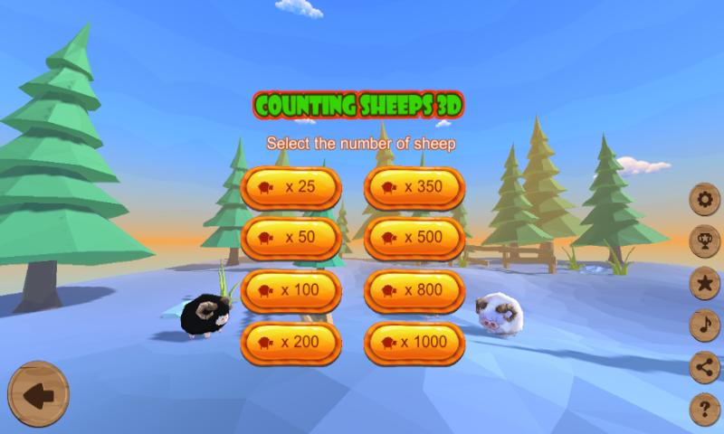 Screenshot 2: 羊を数える-寝る
