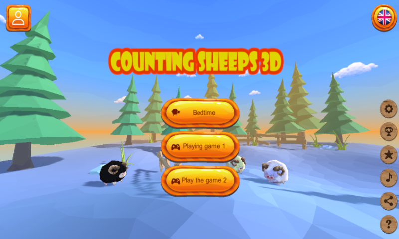 Screenshot 1: Counting Sheep - go to bed