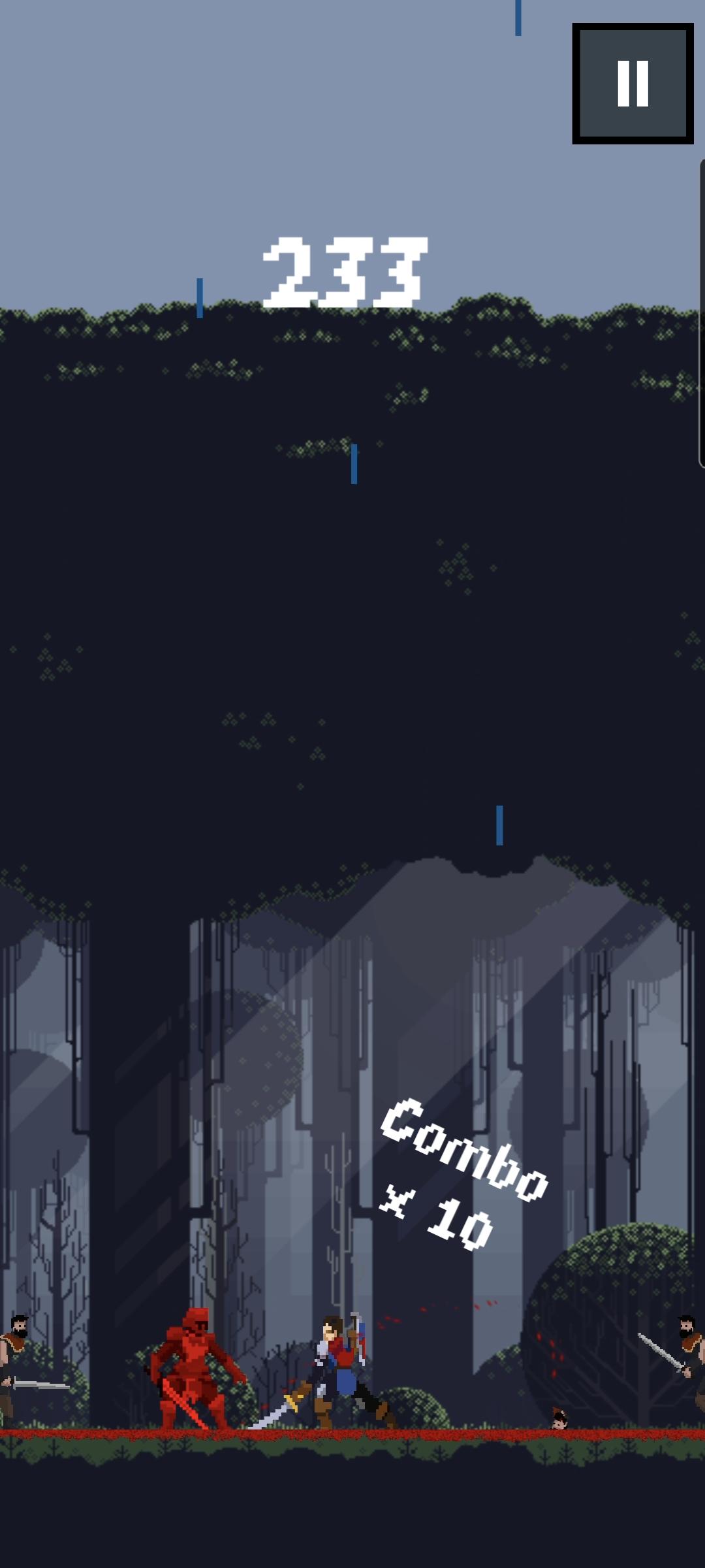 Screenshot 3: Tap Swordsman