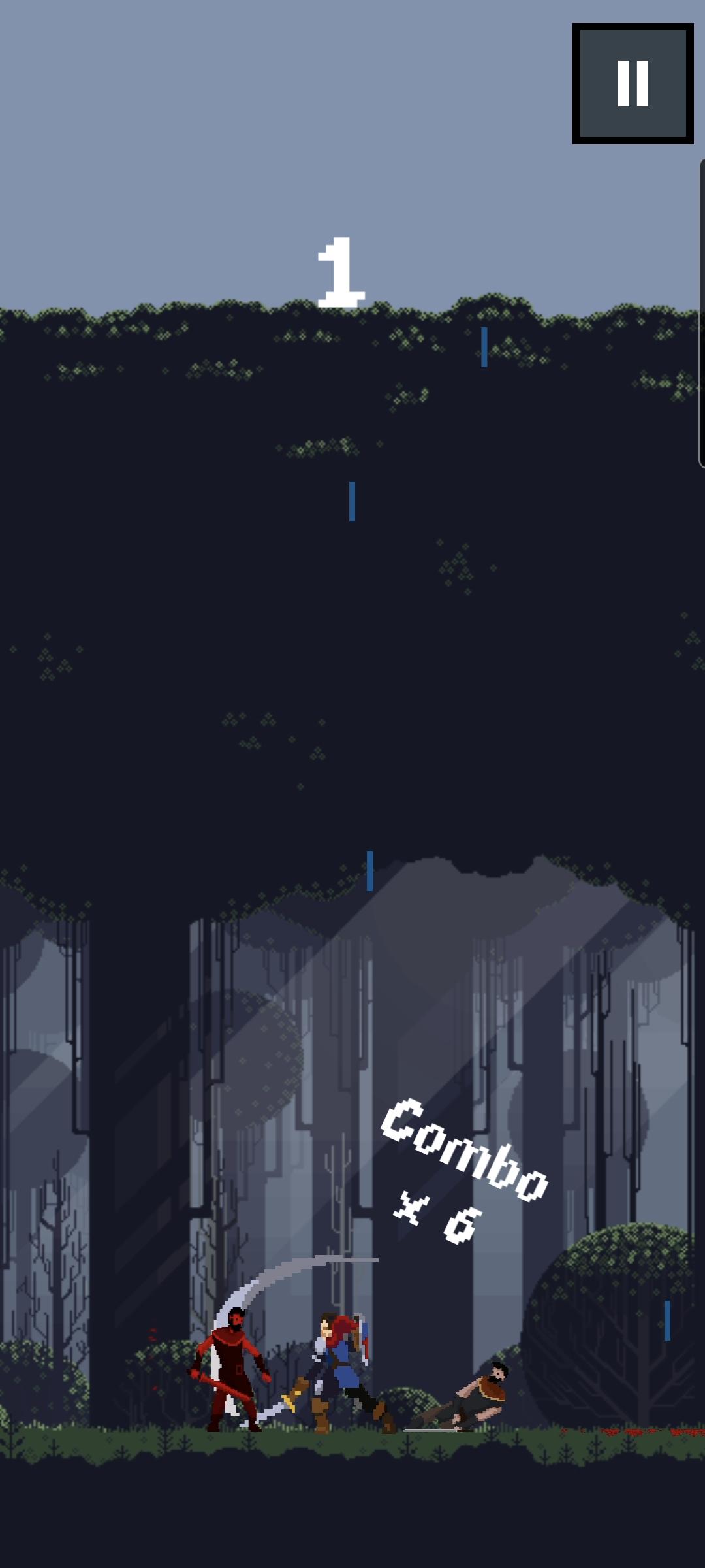Screenshot 2: Tap Swordsman
