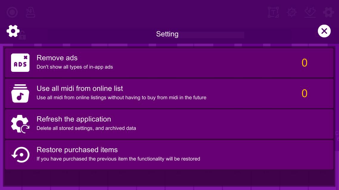 Screenshot 5: Midi Piano Editor