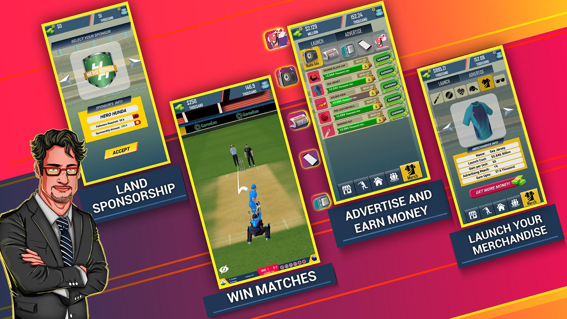Screenshot 6: Cricket CEO 2021