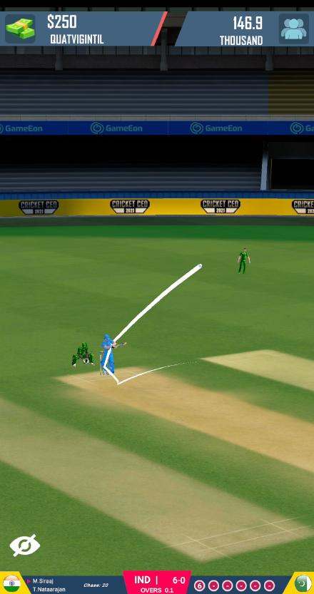 Screenshot 4: Cricket CEO 2021