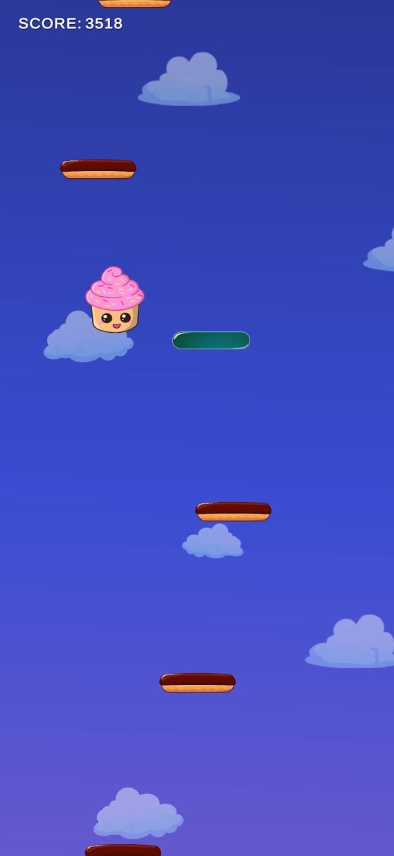 Screenshot 1: Cupcake Escape