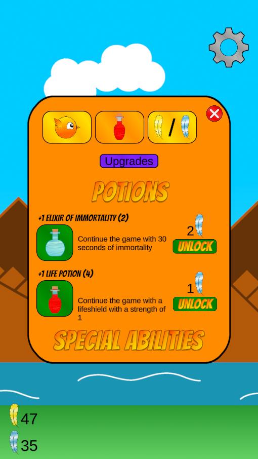 Screenshot 3: Adventures of Chirpie