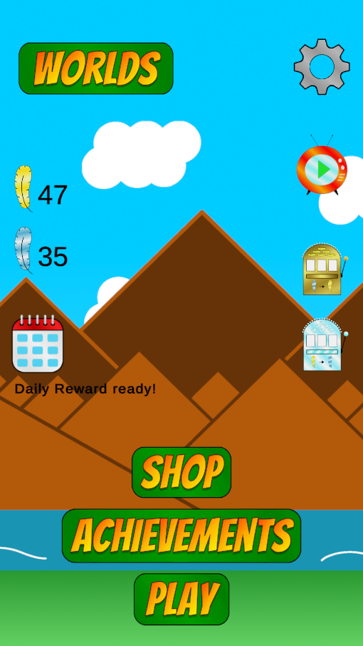 Screenshot 1: Adventures of Chirpie