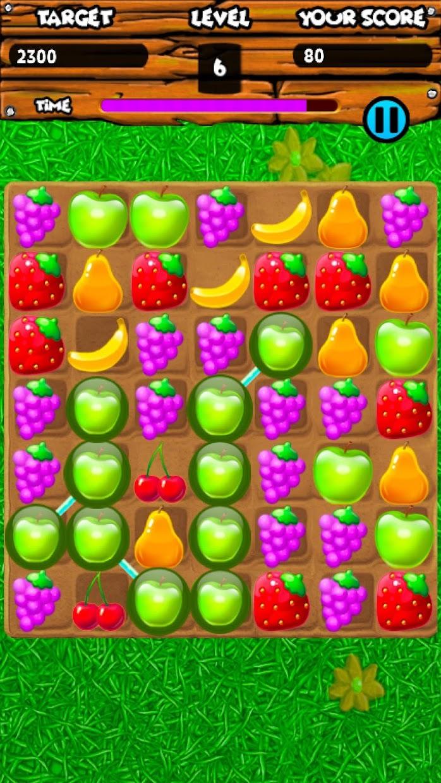 Screenshot 7: Fruity Gardens - Fruit Link Puzzle Game