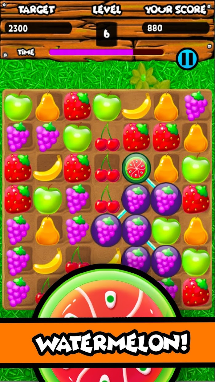 Screenshot 5: Fruity Gardens - Fruit Link Puzzle Game