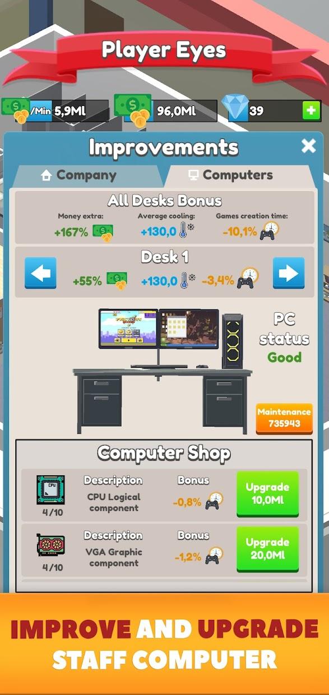 Screenshot 3: Idle Game Dev Empire