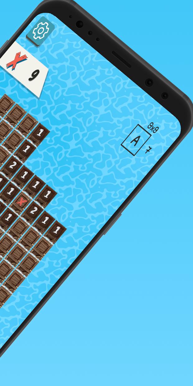 Screenshot 3: Sea of Bombs