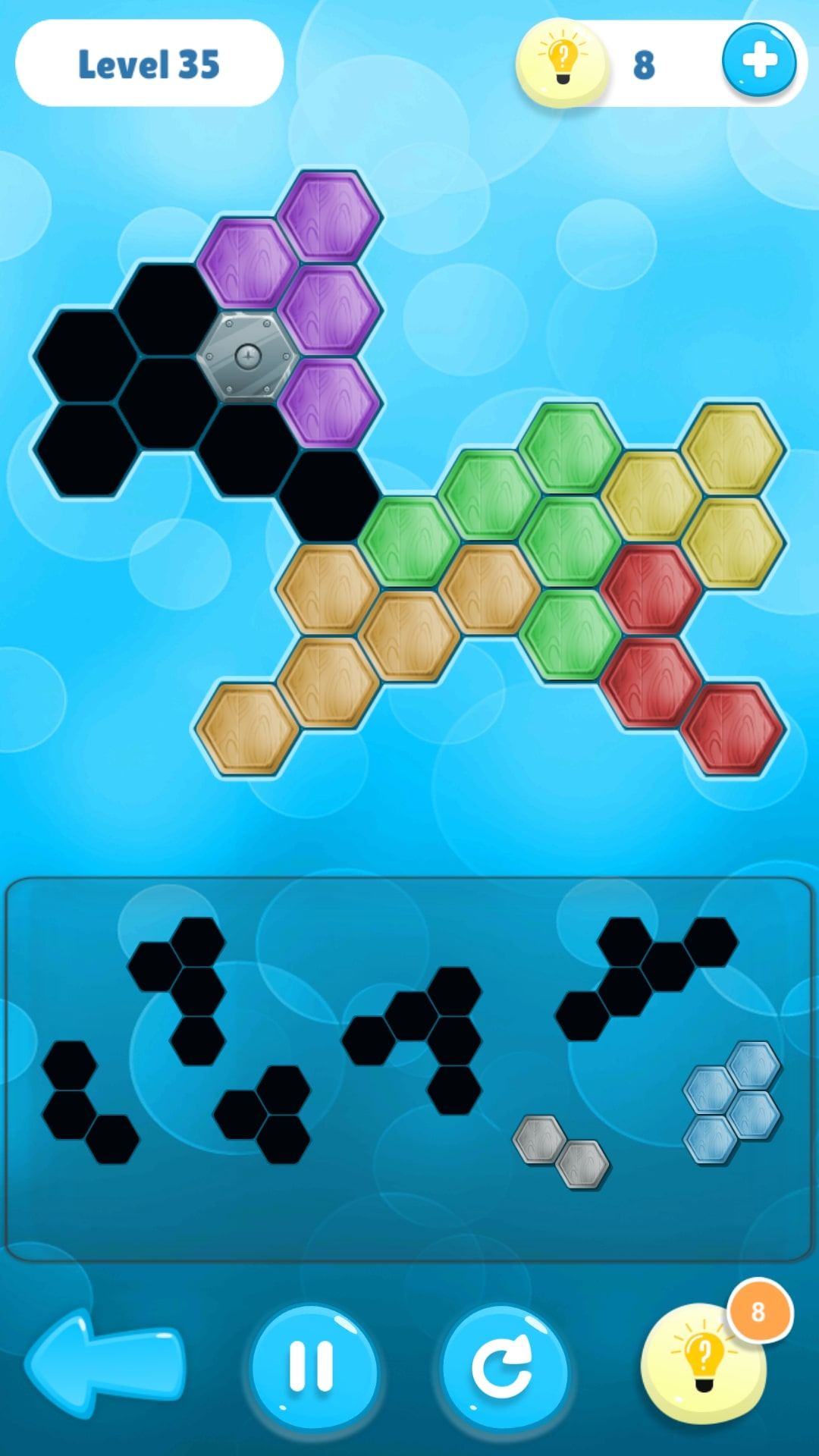 Screenshot 2: Hexa Puzzle Collection