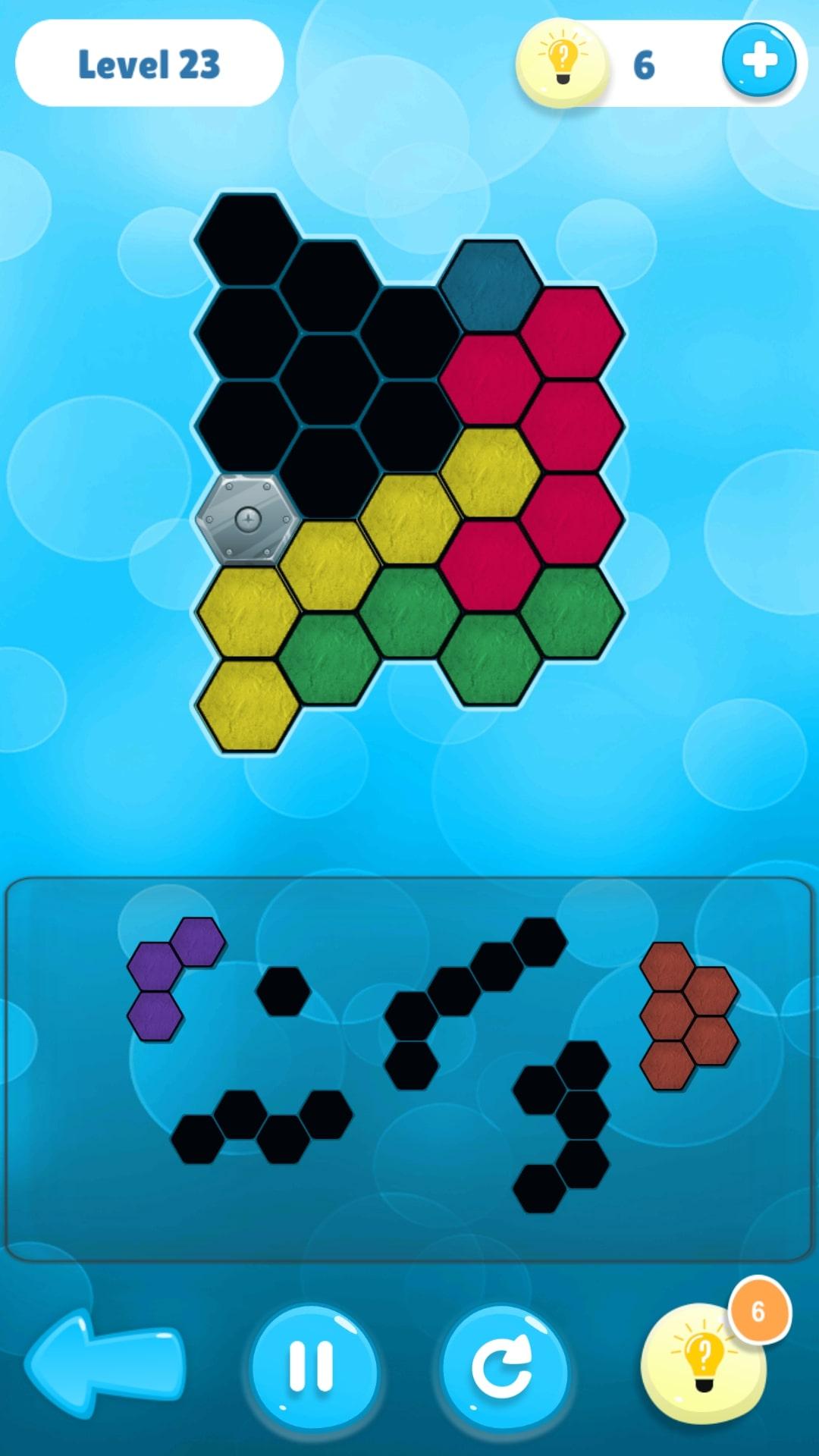Screenshot 4: Hexa Puzzle Collection